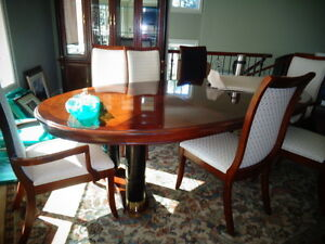 Stanley Neo-Classical dining room set