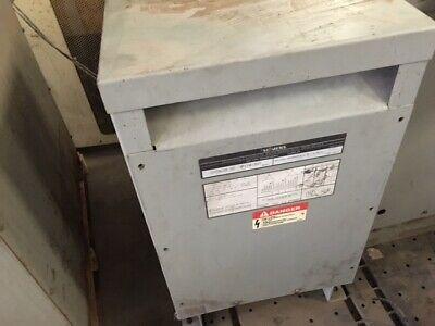 Siemens 3f1y015st 15 Kva Transformer