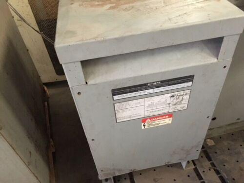 Siemens 3F1Y015ST, 15 KVA Transformer