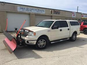 2007 Ford F-150 LARIAT-4X4-LEATHER-SUNROOF-LOADED-ALLOYS