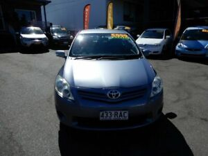 2010 Toyota Corolla ZRE152R MY10 Ascent Grey 6 Speed Manual Hatchback Coorparoo Brisbane South East Preview