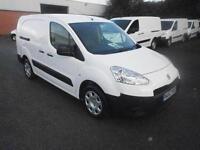 Peugeot Partner L2 716 S 1.6 Hdi 92 Crew Van DIESEL MANUAL WHITE (2013)