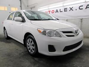 2013 Toyota Corolla CE 19$/SEM BLANC A/C BLUETOOTH 101, 000KM