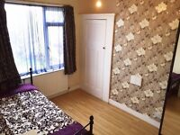 ALL BILLS INCLUSIVE - DOUBLE ROOM AVAILABLE IN ENFIELD EN1 - SORRY NO DSS