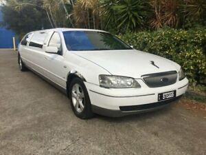 2003 Ford LTD BA White 4 Speed Automatic Sedan Bowen Hills Brisbane North East Preview