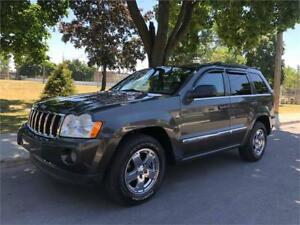 2006 JEEP GRAND CHEROKEE LIMITED, CUIR, TOIT, MAGS, SENSORS