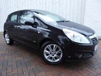 Vauxhall Corsa 1.2i Design 16v, 5 Door, Half Leather with Factory Fitted Integrated Cycle Carrier!!