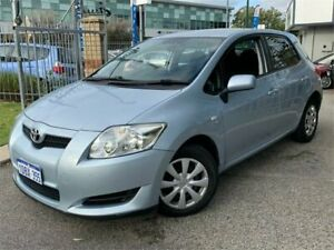 2009 Toyota Corolla ZRE152R MY09 Ascent Blue 4 Speed Automatic Hatchback St James Victoria Park Area Preview