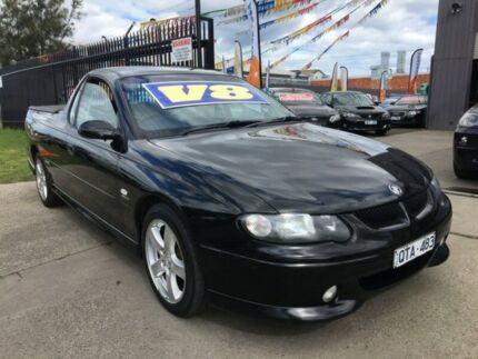 2001 Holden Commodore VU SS 4 Speed Automatic Utility