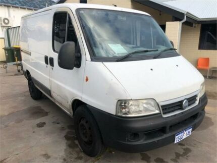 2006 Fiat Ducato 05 Upgrade LWB White 5 Speed Manual Van Mount Hawthorn Vincent Area Preview