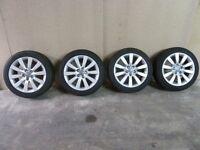 Audi A1 sport Audi alloys + tyres