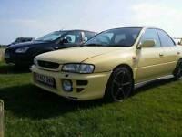 Subaru impreza 2.0 sport special awd cashmere yellow