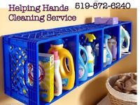Helping Hands Cleaning Service ..St Thomas area