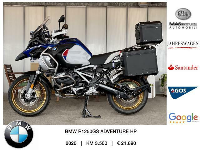 Bmw R 1250 GS Adventure HP 3 pack Dynamic, Touring, Comfort