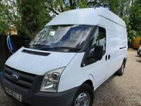 2009 Ford Transit 2.4TDCi NO VAT 350 LWB GENUINE MILES HI ROOF