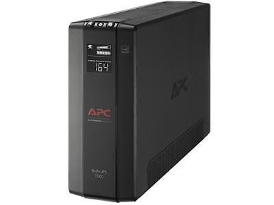 APC BX1500M Back-UPS Pro 1500 VA 900 Watts 10 Outlets Uninterruptible Power Supp