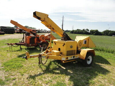 2003 Woodchuck Wc12a Wood Chipper Duetz Diesel Simple Drum Design Runs And Works
