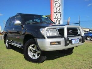 2000 Toyota Landcruiser FZJ105R GXL Blue Automatic Wagon Wangara Wanneroo Area Preview