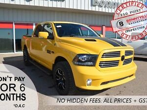 2016 Ram 1500 SPORT, LOW KM'S, NEW CONDITION