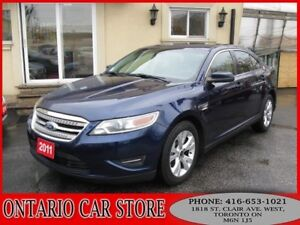 2011 Ford Taurus SEL AWD BLUETOOTH HEATED SEATS