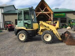 2007 YANMAR V4-50 ARTICULATED WHEEL LOADER WITH CAB