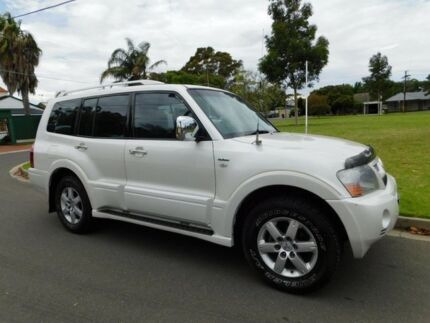 2004 Mitsubishi Pajero NP MY04 Exceed White 5 Speed Sports Automatic Wagon Somerton Park Holdfast Bay Preview
