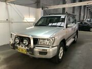 2001 Toyota Landcruiser HDJ100R GXL (4x4) Silver 4 Speed Automatic 4x4 Wagon Beresfield Newcastle Area Preview