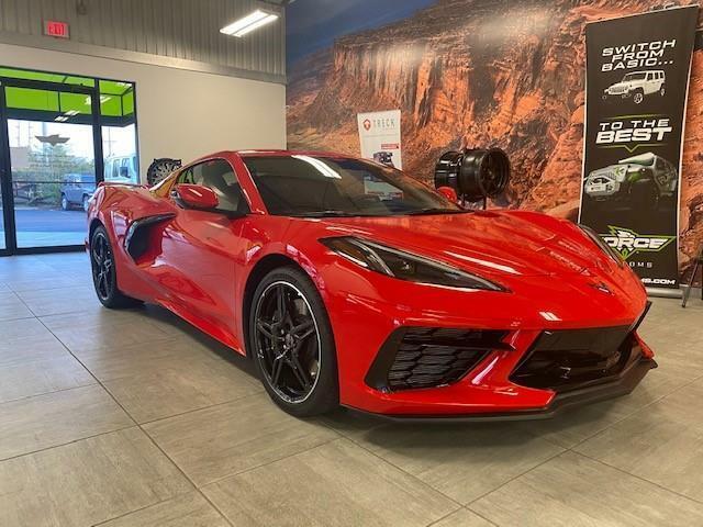 2020 Red Chevrolet Corvette  1LT | C7 Corvette Photo 2