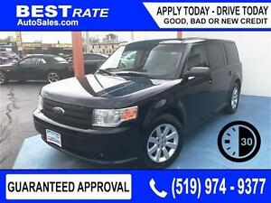 FORD FLEX SE - APPROVED IN 30 MINUTES! - ANY CREDIT LOANS