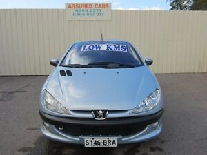 2003 Peugeot 206 CC Blue 4 Speed Automatic Cabriolet Windsor Gardens Port Adelaide Area Preview