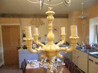 Vintage Centre Light - 4 Arm Chandelier Style