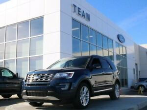 2017 Ford Explorer LIMITED, 301A, SYNC3, NAV, TWIN PANEL MOONROO