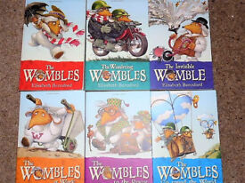 'Reduced to Clear' Set of 6 WOMBLES Paperback BOOKS, By Elisabeth Beresford (As New)