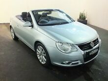 2007 Volkswagen EOS 1F 2.0T FSI Silver 6 Speed Direct Shift Convertible Clemton Park Canterbury Area Preview