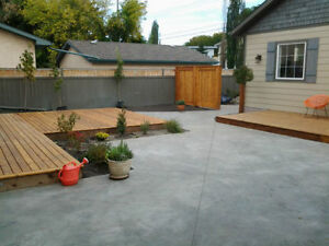 CONCRETE AND LANDSCAPING Edmonton Edmonton Area image 1