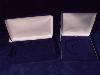 Velvet Coin Display Case (Box) for 1 4oz. note or 1 4oz. through 12oz. -