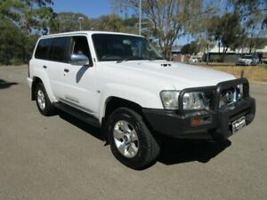 2009 Nissan Patrol GU VI ST (4x4) White 4 Speed Automatic Wagon Gilles Plains Port Adelaide Area Preview