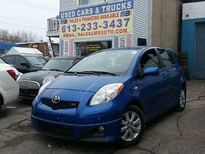 2009 Toyota Yaris RS!  0 DOWN $65 WEEKLY