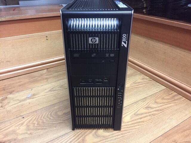 HP Z800 Workstation Xeon X5660 2.80GHz 24GB RAM 500GB & 1TB HDD Win 7 PC