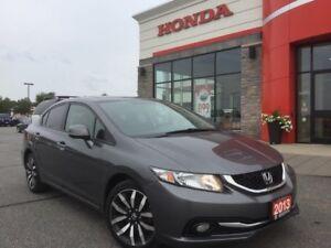 2013 Honda Civic Touring, ACCIDENT FREE!