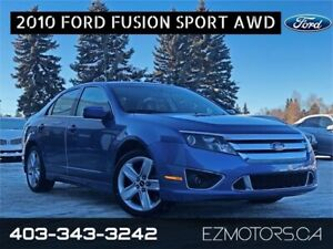 2010 Ford Fusion SPORT AWD SUMMER AND WINTER TIRES!!!