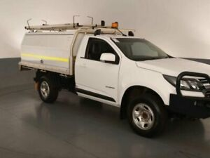 2017 Holden Colorado RG MY17 LS 4X2 Summit White Sports Automatic CAB CHASSIS SINGLE CAB Bibra Lake Cockburn Area Preview