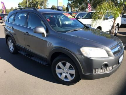 2007 Holden Captiva CG CX AWD Grey 5 Speed Sports Automatic Wagon