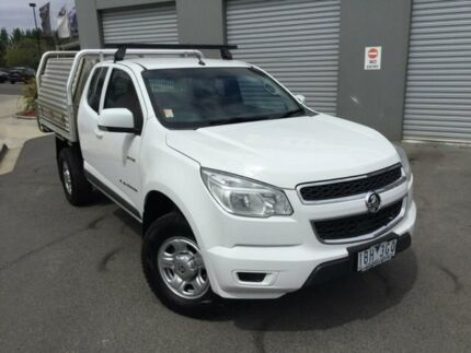 2014 Holden Colorado White Manual Cab Chassis Traralgon Latrobe Valley Preview