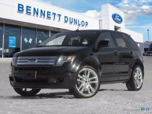 2010 Ford Edge Sport-AWD-Moon Roof-Nav-Heated Leather Seats