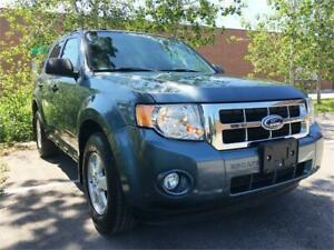 2010 FORD ESCAPE XLT, 1 OWNER, 55000 KM, CERTIFIED