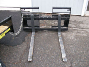 Quick Attach Forks - Horst - 2000 Lbs Capacity