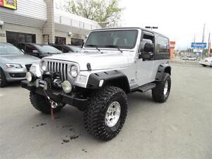 2005 JEEP WRANGLER UNLIMITED  **6-SPEED**