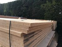 38mm chipboard - ideal for mezzanine flooring or racking