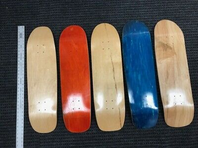 "SKATEBOARD DECKS, 8.5""-9"" Assorted Park shapes(5 or 10 Pack)USA made($9.99 each)"